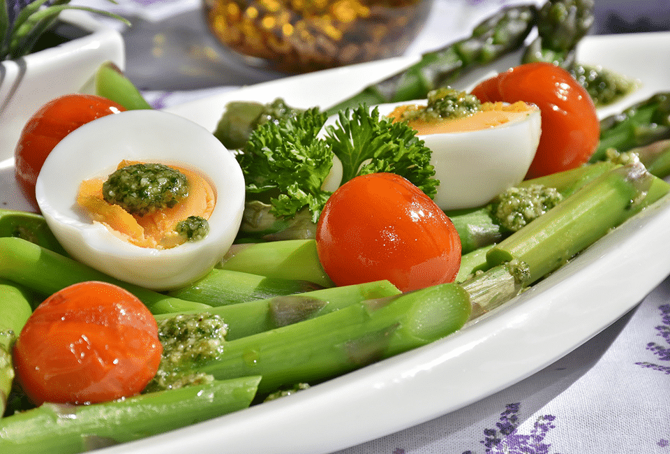 El huevo duro sirve para bajar de peso