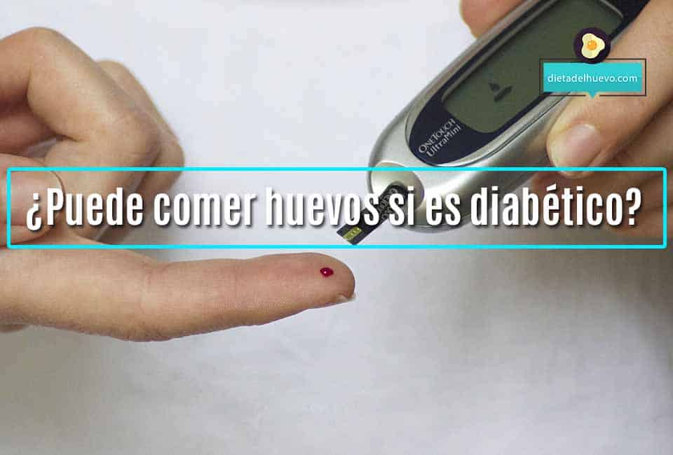 huevos diabetes