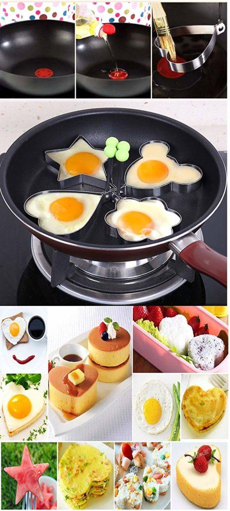 formas para cocinar huevos fritos