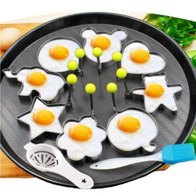 Moldes para huevos fritos