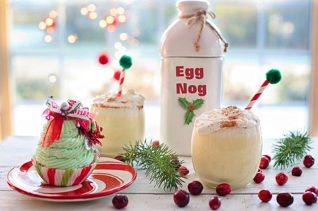 ponche de huevo para navidad