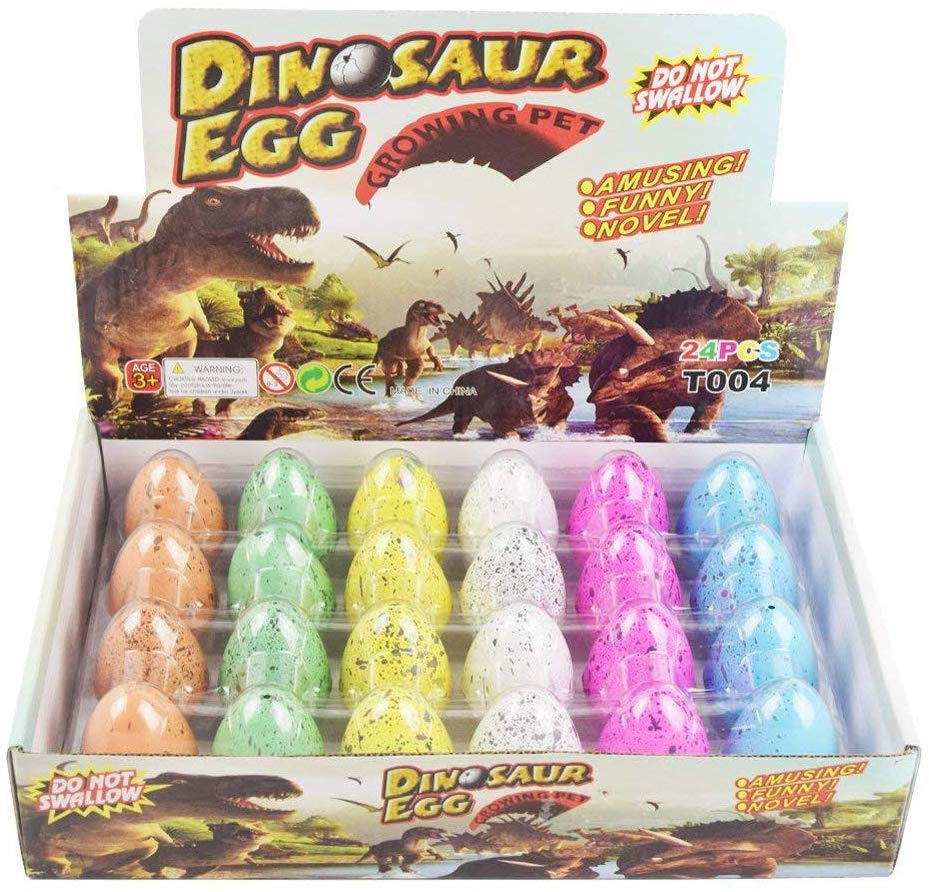 huevos de dinosaurios para niños