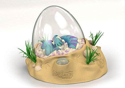 huevos de dinosaurio de agua
