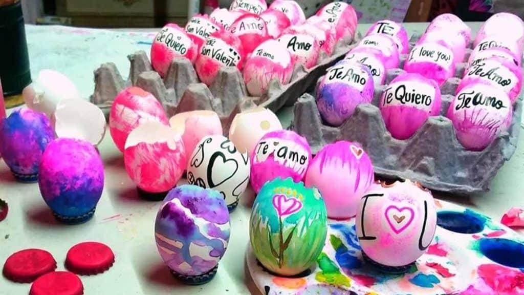 cascaras de huevo trituradas
