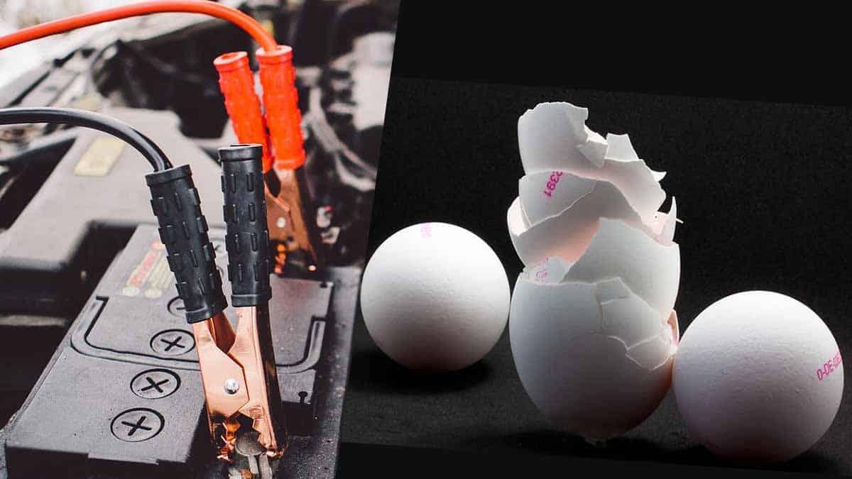 bateria a base de cascara de huevo