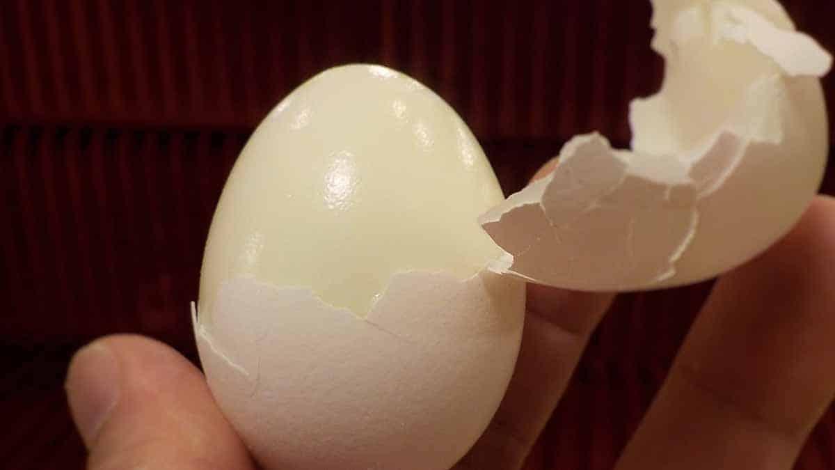 huevo duro paso a paso