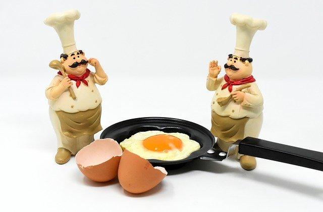 los chefs aprueban el huevo frito perfecto