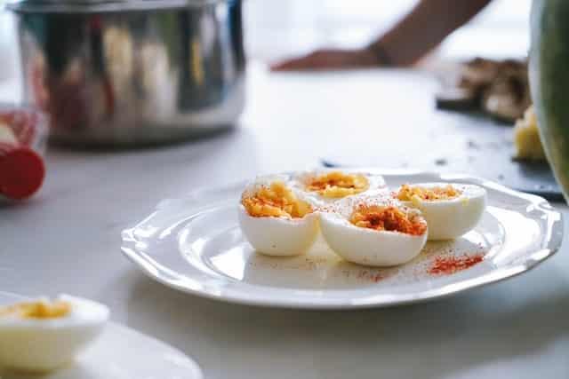 calorias de un huevo cocido