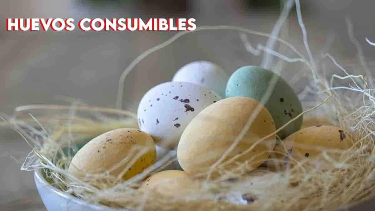 huevos consumibles