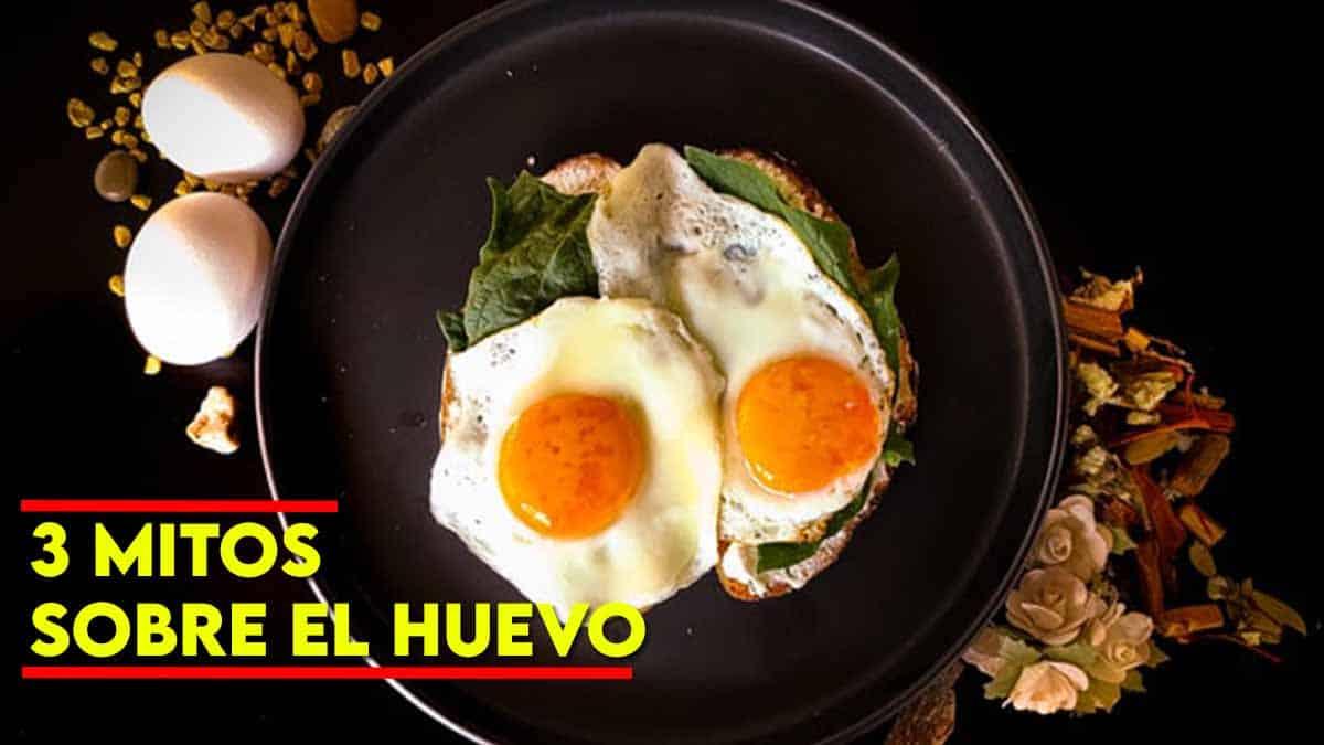 3 mitos sobre el huevo