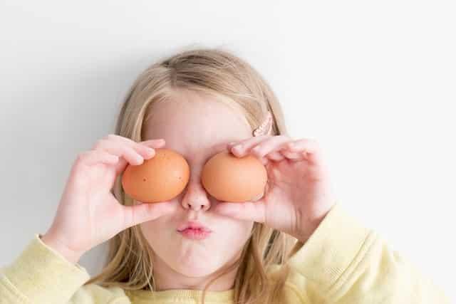 huevos para la nutrición de los bebes