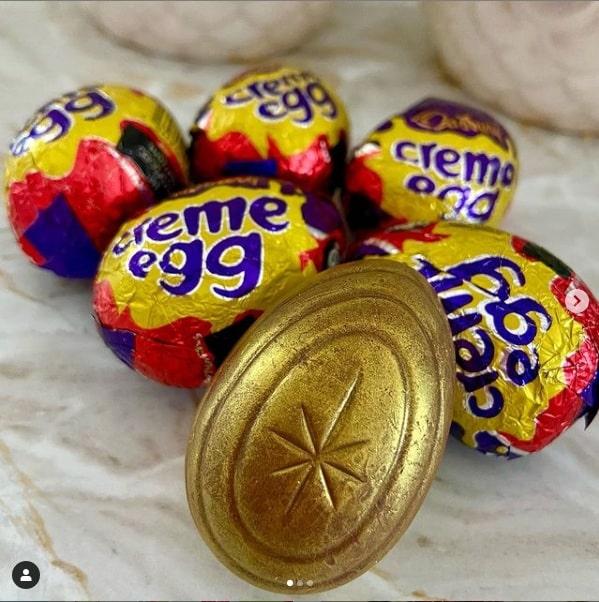 golden creme egg