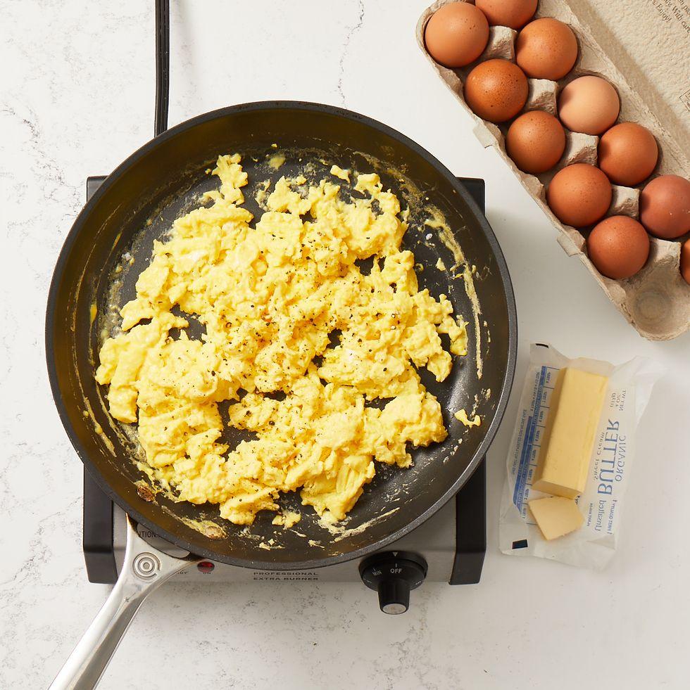 los mejores huevos revueltos