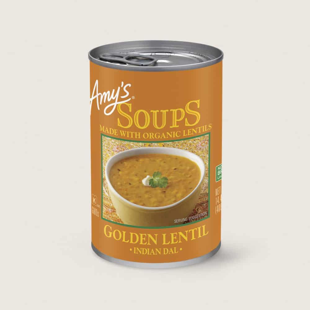 sopa Golden Lentil