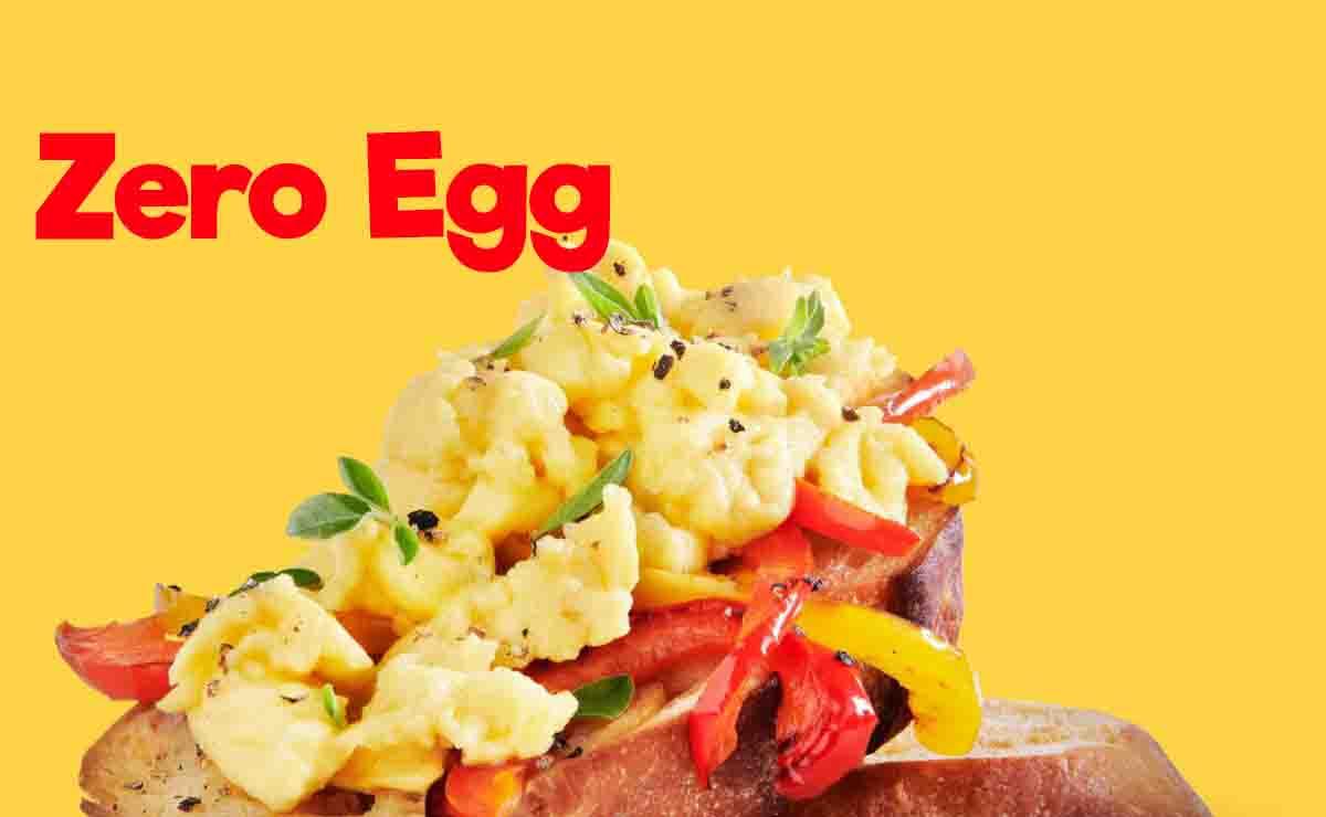 zero egg en menu tropicaleo