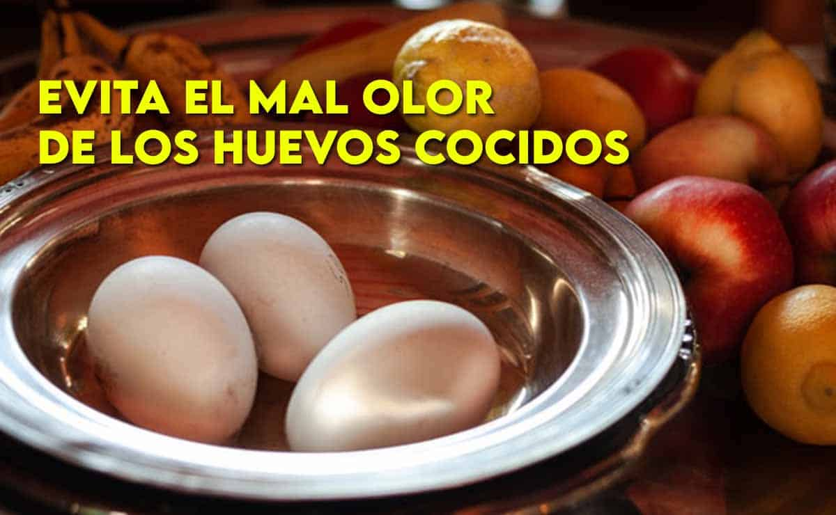 evita el mal olor de los huevos cocidos