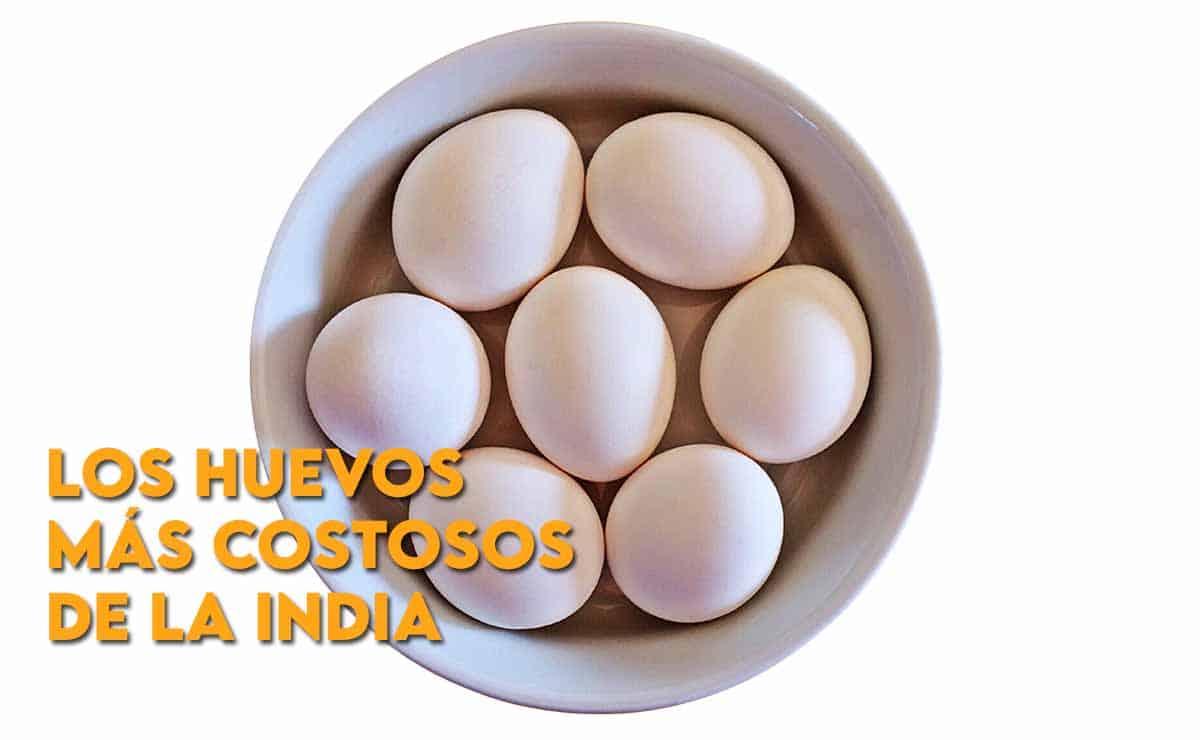 Los huevos más costosos de la India